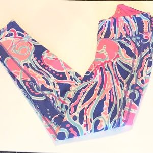 Lilly Pulitzer jellies be Jammin Leggings Size XS